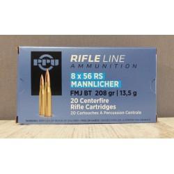 Munitions PPU 8x56 RS...