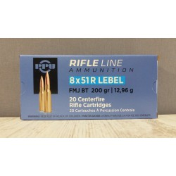Munitions PPU 8x51 R Lebel,...